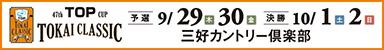 47th TOP CUP TOKAI CLASSIC