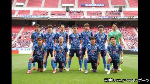 東京オリンピック サッカー男子 予選第3戦 日本×フランス