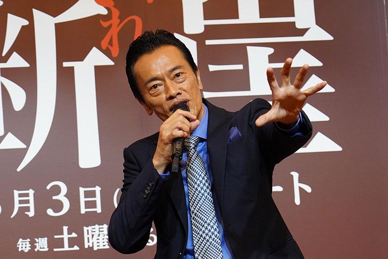 遠藤憲一さんアラカン初のラブシーン『それぞれの断崖』