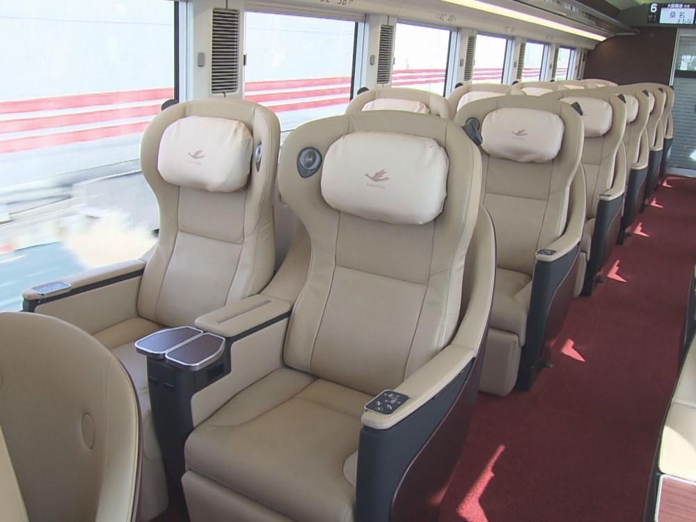 座席表 近鉄ひのとり 近鉄特急「しまかぜ」乗車レポート!おすすめの座席から豪華シートが印象的な車内の様子をお伝え