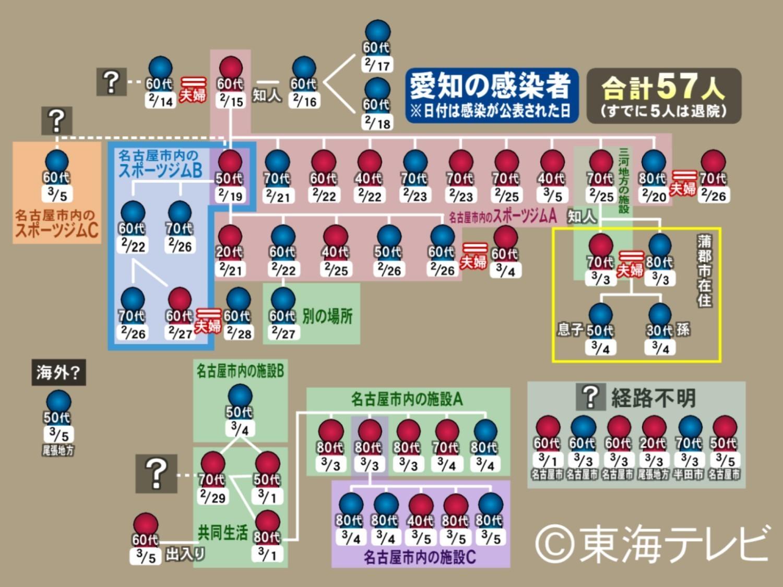 愛知 県 新型 コロナ
