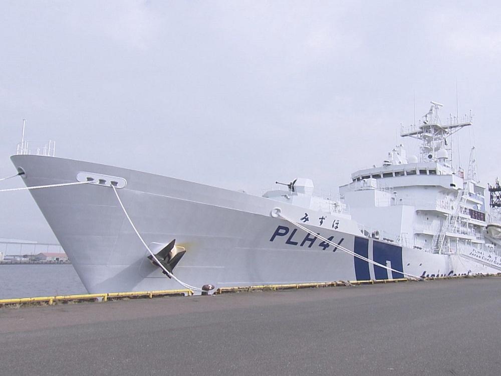 """機関砲""""も一回り大きく…海保最大級の巡視船「みずほ」内部を公開 ..."""